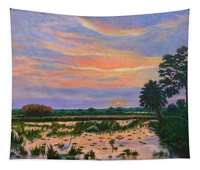 Loxahatchee Sunset Tapestry