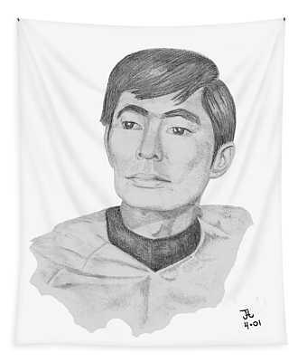 Lt. Sulu Tapestry