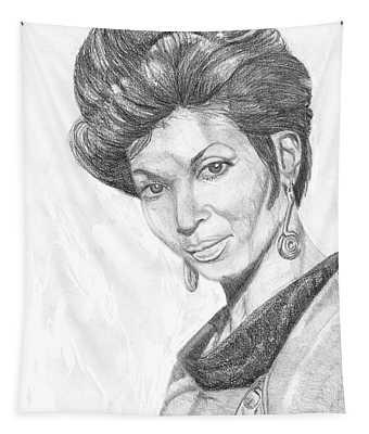 Lt. Uhura Tapestry
