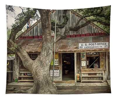 Luckenbach 2 Tapestry