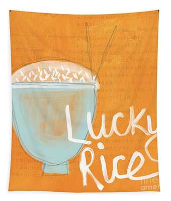 Lucky Rice Tapestry
