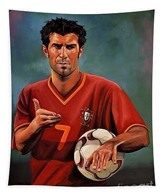 Luis Figo Tapestry