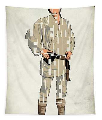 Luke Skywalker - Mark Hamill  Tapestry