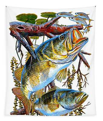 Lurking Bass Tapestry