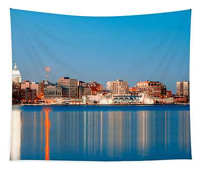 Madison Skyline Tapestry