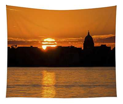 Madison Sunset Tapestry