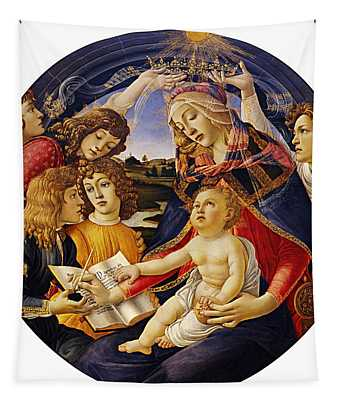 Madonna Of The Magnificat Tapestry