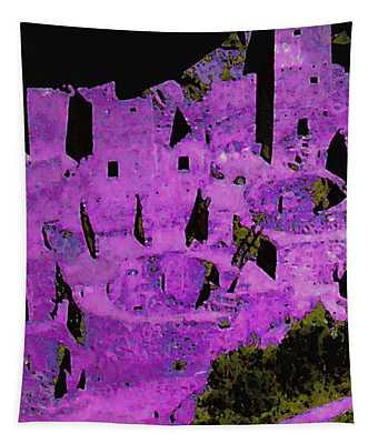 Magenta Dwelling Tapestry