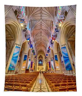 Magnificent Cathedral II Tapestry
