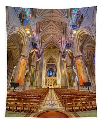 Magnificent Cathedral V Tapestry