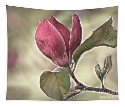 Magnolia Glow Tapestry