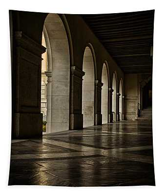 Main Building Arches University Of Texas Tapestry