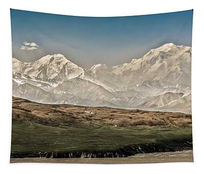 Majestic Mount Mckinley Tapestry