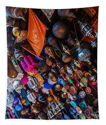 Marrakech Lanterns Tapestry