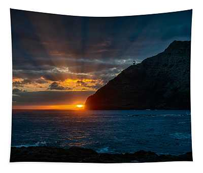 Makapuu Sunrise Tapestry