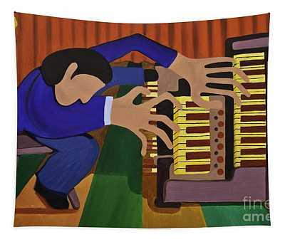 The Organist Tapestry