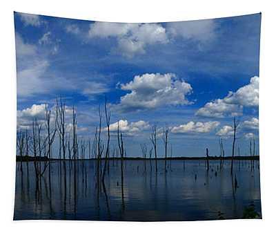 Manasquan Reservoir Panorama Tapestry