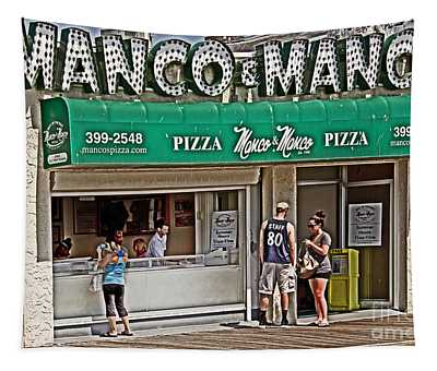 Manco And Manco Pizza Tapestry
