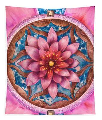 Mandala Of Health Tapestry