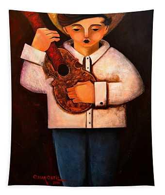 Manolito El Cuatrista 1942 Tapestry