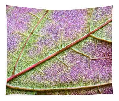 Maple Leaf Macro Tapestry