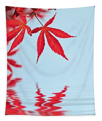 Maple Reflection Tapestry
