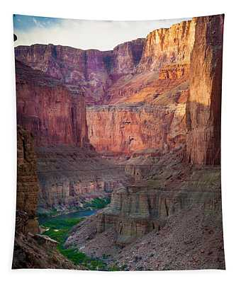 Marble Cliffs Tapestry