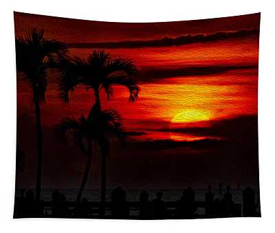 Marco Island Sunset 59 Tapestry
