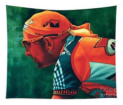 Marco Pantani 2 Tapestry