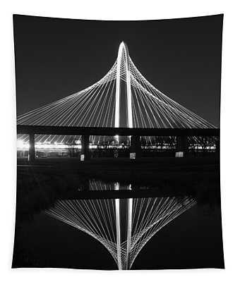 Margaret Hunt Hill Bridge Reflection Tapestry