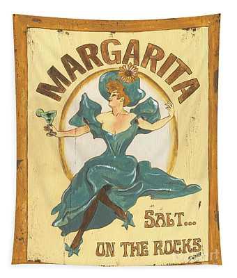 Margarita Salt On The Rocks Tapestry