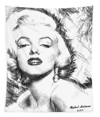 Marilyn Monroe - The One And Only  Tapestry