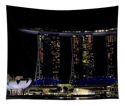 Marina Bay Sands Integrated Resort Hotel And Casino And Artscience Museum Singapore Marina Bay Tapestry