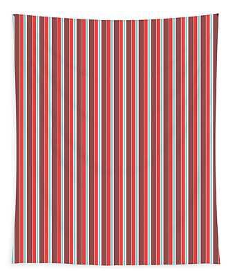 Marsala Stripe 2 Tapestry