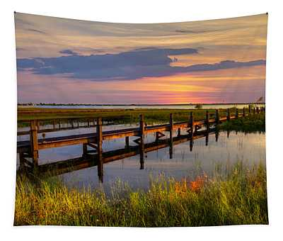 Marsh Harbor Tapestry