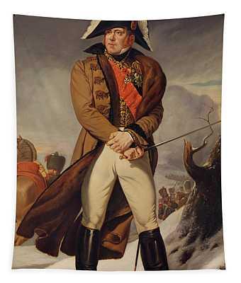Marshal Michel Ney 1769-1815 Duke Of Elchingen Oil On Canvas Tapestry