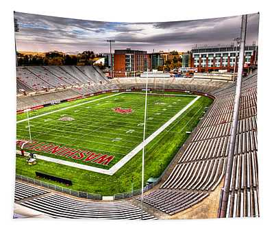 Martin Stadium At Washington State Tapestry