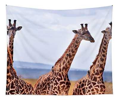 Masai Giraffe Tapestry