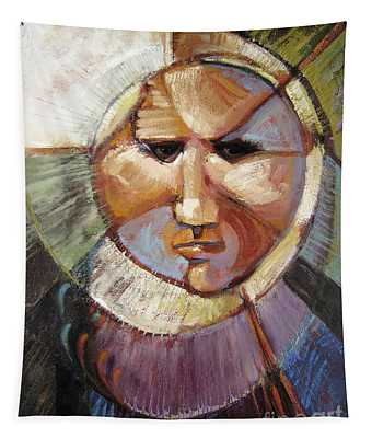 Masking Enjoyment Tapestry