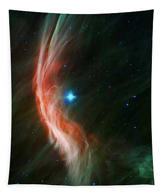 Massive Star Makes Waves Tapestry