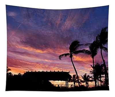 Maui Tiki Sky Tapestry