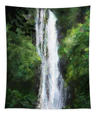 Maui Waterfall Tapestry