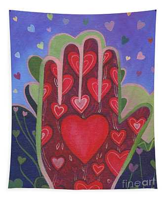 May We Choose Love Tapestry