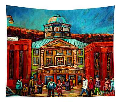 Mcgill Gates Montreal Tapestry
