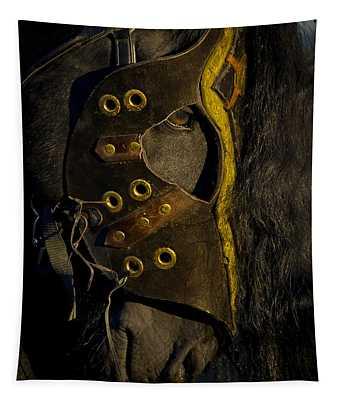 Medieval Stallion Tapestry