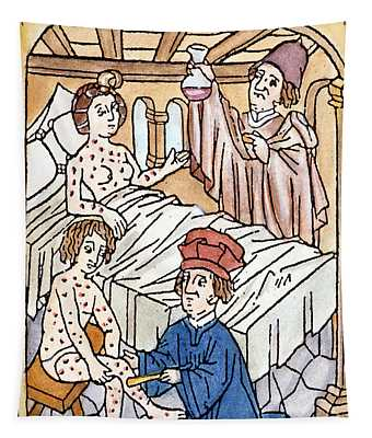 Medieval Syphilis, 1497 Tapestry