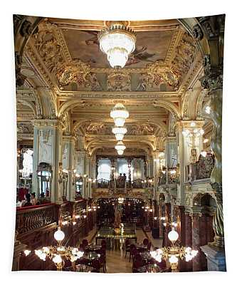 Meet Me For Coffee - New York Cafe - Budapest Tapestry