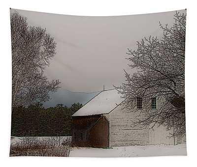Melvin Village Barn Tapestry