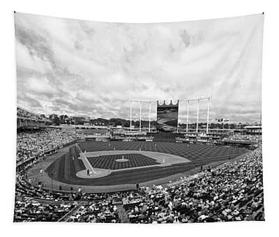 Memorial Day At The K Bw Tapestry