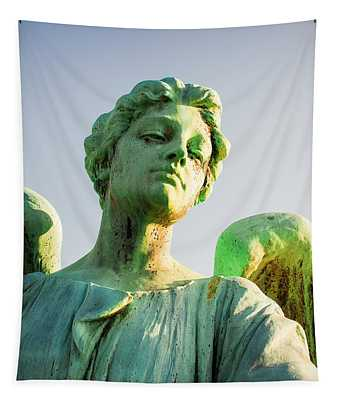 Memphis Elmwood Cemetery - Patinated Angel Tapestry